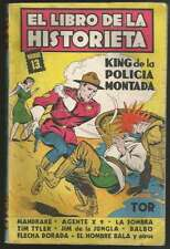 Argentina Comic King De La Policia Montada Ed TOR 1956