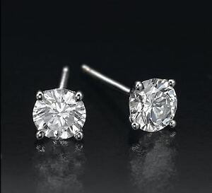 0-60-CT-ROUND-CUT-14K-WHITE-GOLD-NETURAL-G-SI-LB-DIAMONDS-STUD-EARRINGS-cts