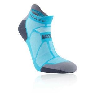 DernièRe Collection De Hilly Femme Marathon Fresh Running Socklet Bleu Sport Respirant Léger-afficher Le Titre D'origine Vous Garder En Forme Tout Le Temps