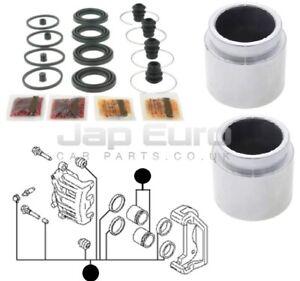 Pour-Nissan-Elgrand-E51-02-10-Etrier-de-Frein-avant-Cylindre-Piston-Kit