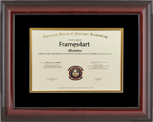 image is loading diploma matte mahogany red cherry frame university c50