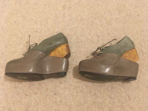de de corte 37 de encaje cuña All 4 Zapatos con gris Saints wUq0d67xxR