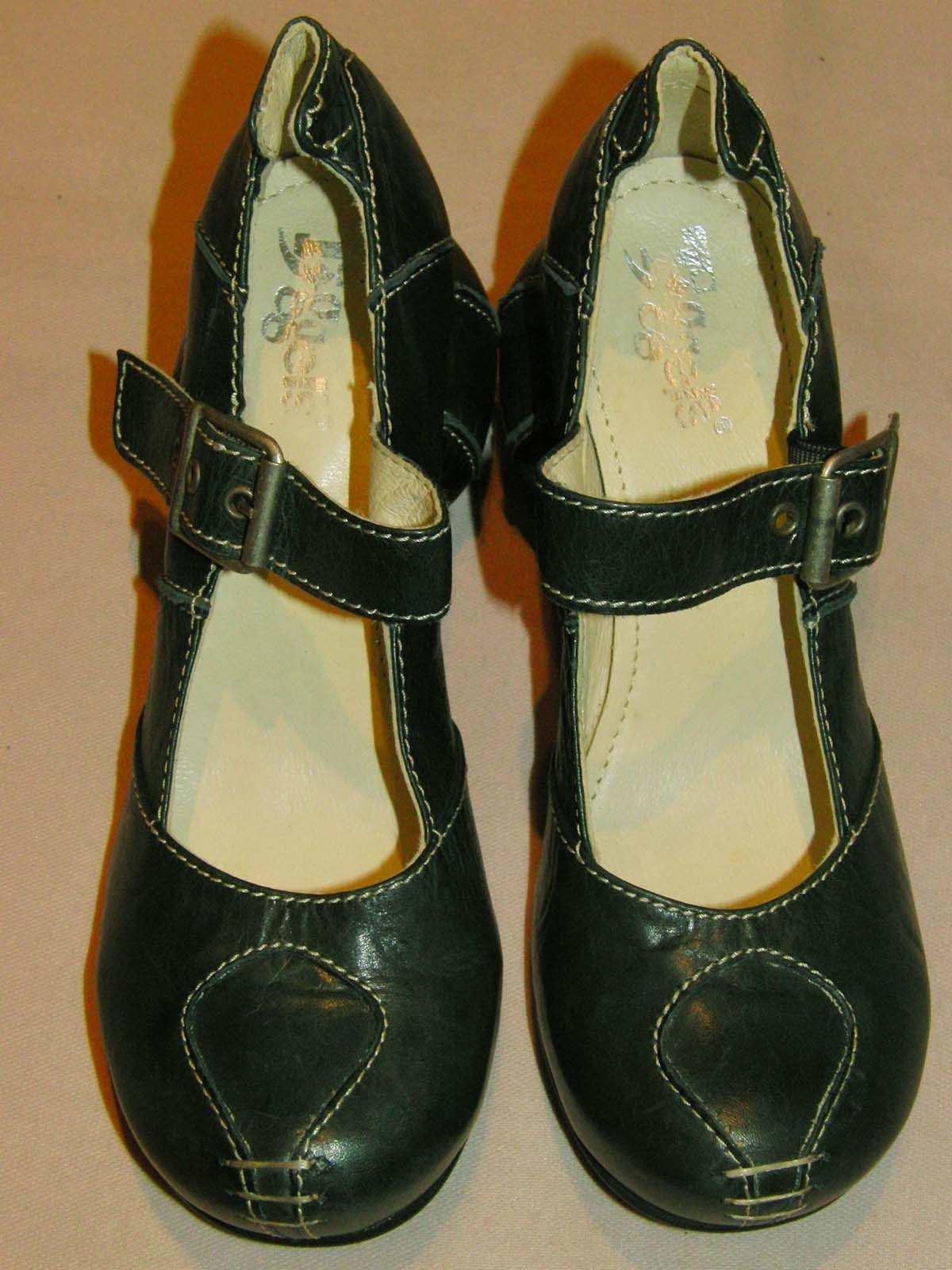 Details zu TIGGERS Pumps Leder Schuhe schwarz weiß Gr. 35,5 NEU Art.010