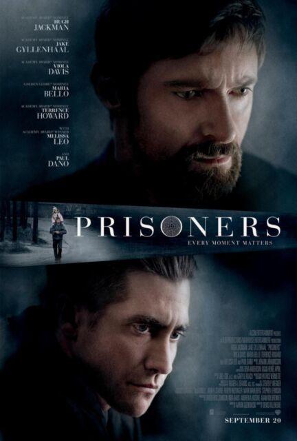 PRISONERS DOUBLE SIDED ORIGINAL MOVIE film POSTER Hugh Jackman Jake Gyllenhaal