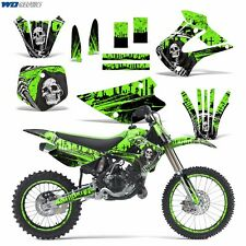 Graphic Kit Kawasaki KX 85/100 Dirt Bike MX Motocross KX85 KX100 01-13 REAP GREN