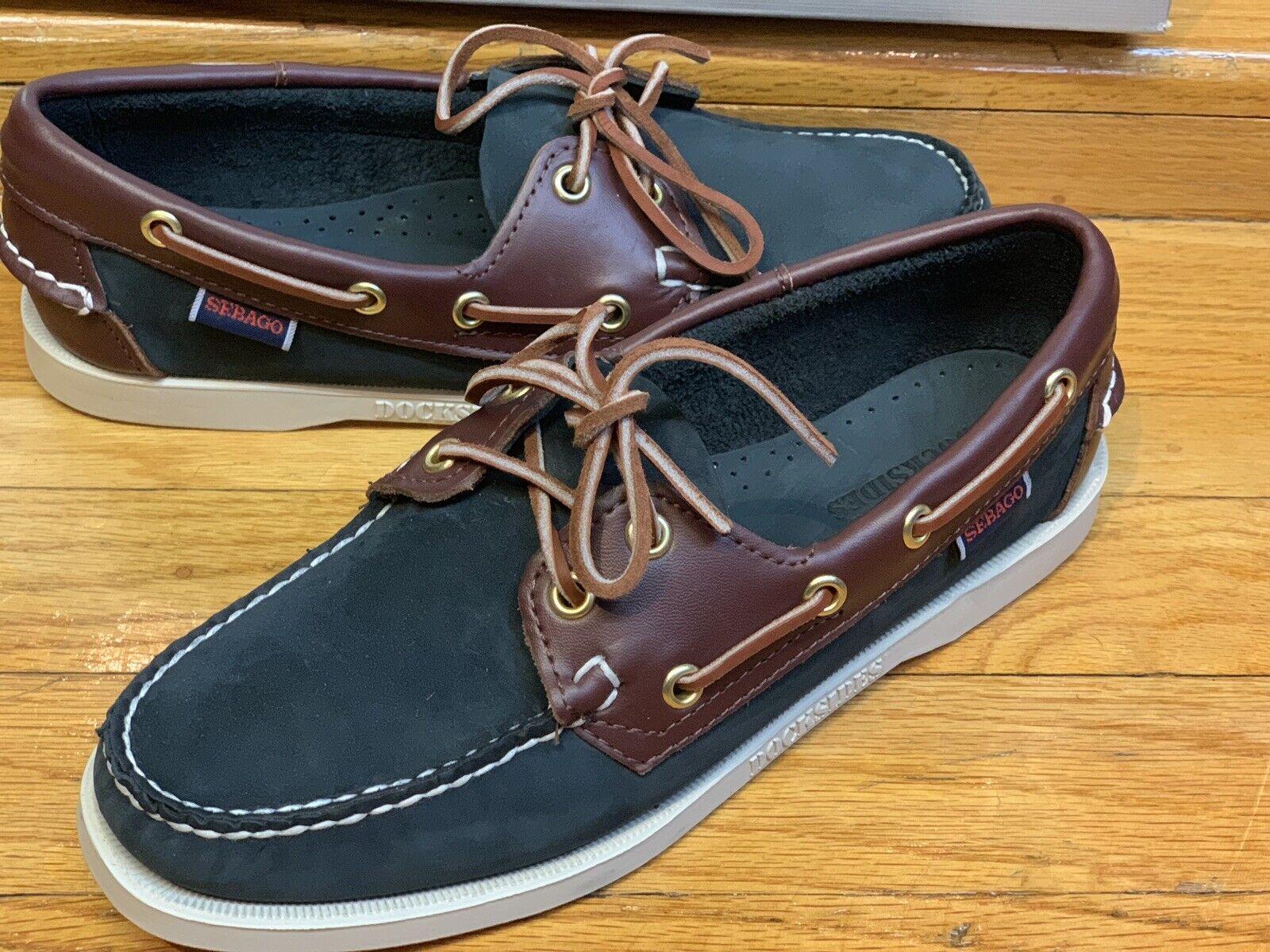 Women's Sebago Docksides Spinnaker shoes bluee Brown Brown Brown B58152 914e7b