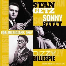 Stan Getz, Dizzy Gillespie, Sonny Stitt - For Musicans Only - Vinyl LP