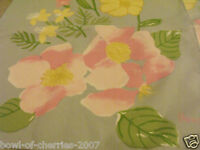 Vintage Scarf, Vera, From Daytons, Blue & Pink Floral, Nwts