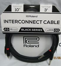 10 ft roland black series interconnect cable