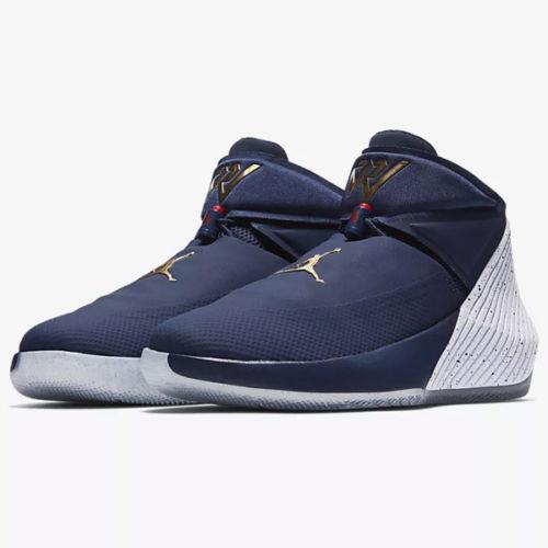 Mens Jordan Why Not Zero .1 AA2510-431 Midnight Navy Brand New Size 9