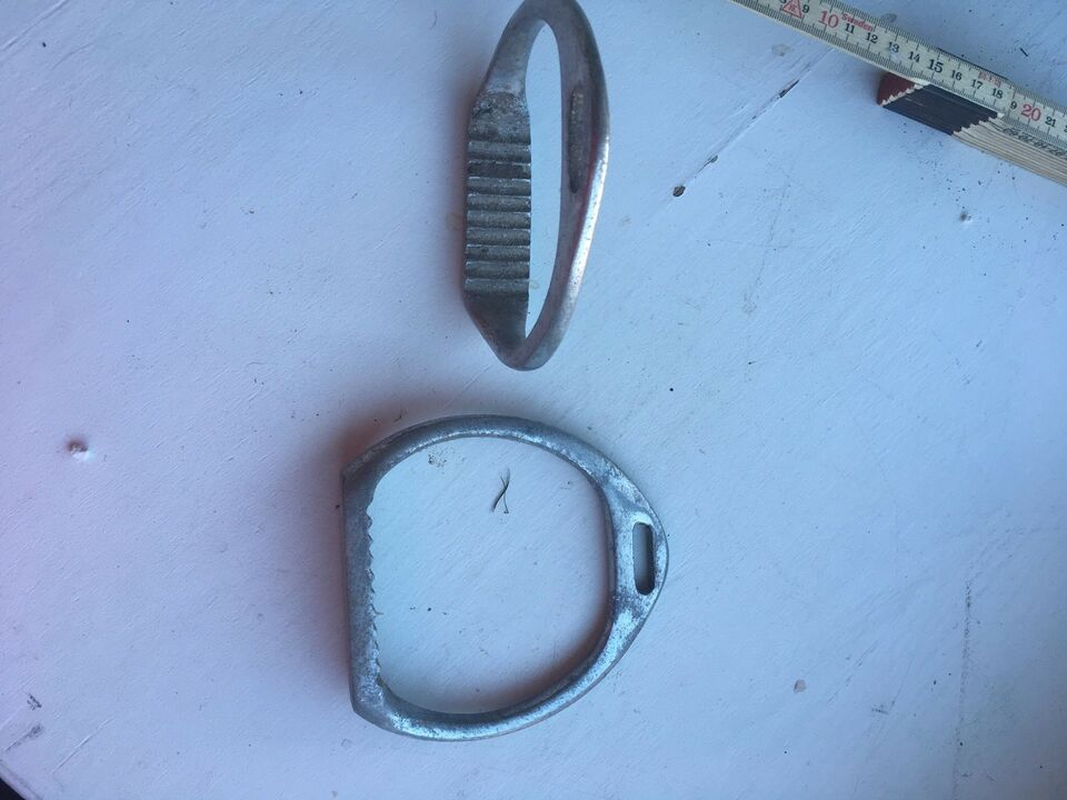 Stigbøjler, Stigbøjler i aluminium