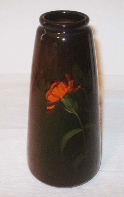 Vintage 1900s Weller Pottery 8 Vase Louwelsa Poppy Gloss Finish