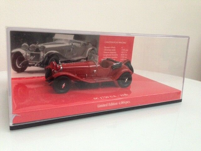 Minichamps 403120433 - Alfa Romeo 6C 1750 GS (1930) - 1 43 - Limited Edition