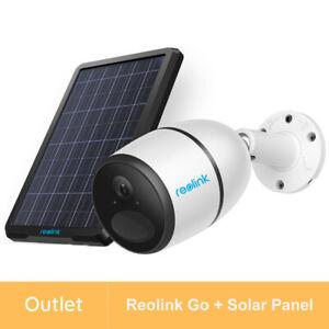Reolink GO+ Solar Panel Refurbished 1080P 4G LTE Überwachungskamera Battery