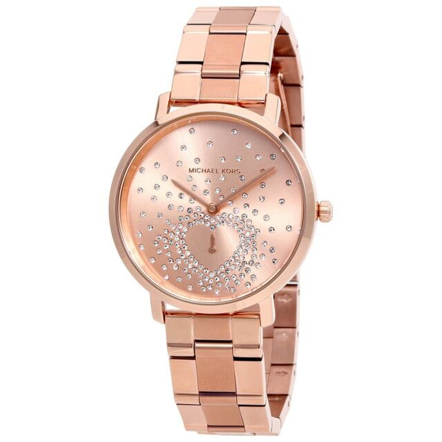 free delivery wholesale undefeated x Michael Kors MK3621 Women's Jaryn Rose Gold-Tone Watch
