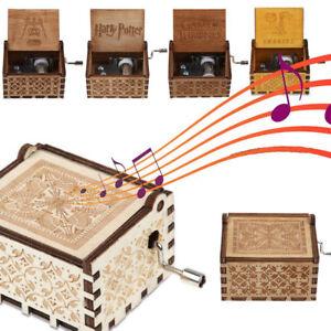 Handarbeit Spieluhr Spieldose Holz Kinder Geschenk Music Box Toy