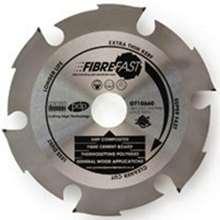 QUALITY PDP FIBRE FAST FIBREBOARD SAW BLADE 230mm 9