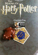 Harry Potter Warner Studio Tour London Chocolate Frog Bracelet Charm Slider
