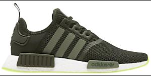Adidas originals nmd r1 männer nacht fracht fracht fracht / basis green / halb gefrorene gelb cq2414 0b559d