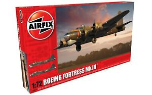 AIRFIX-1-72-BOEING-FORTRESS-MK-III-MODEL-AIRCRAFT-KIT-WW2-PLANE-MODEL-A08018