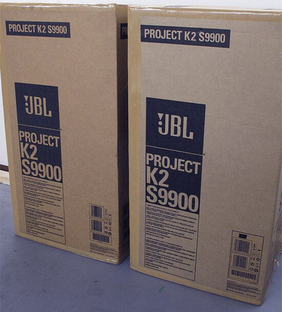 JBL Synthesis K2 S9900 BRAND NEW IN BOX NEVER USED  Full Warranty