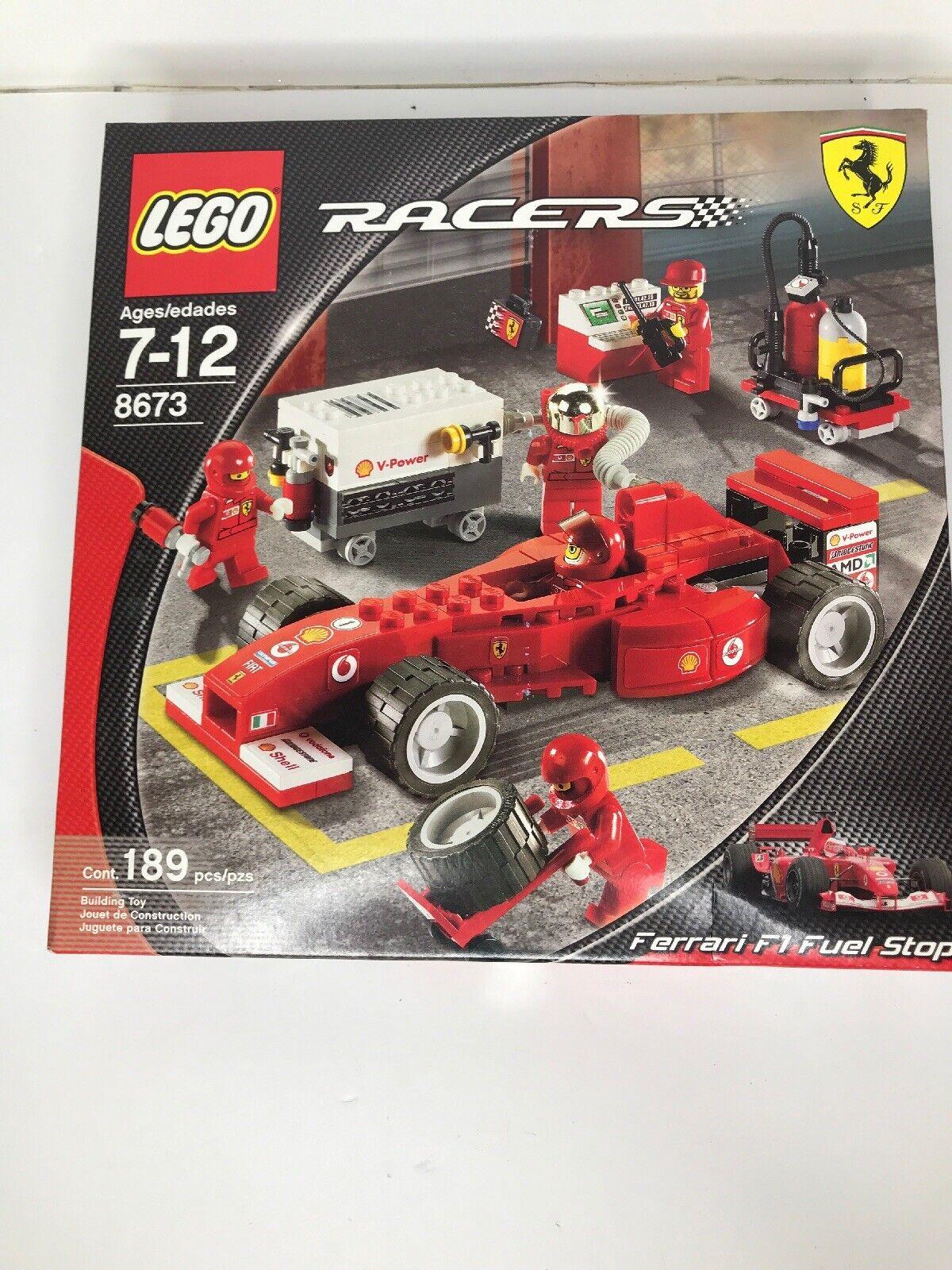 Lego Racers Ferrari f1 Fuel Stop (4285087)