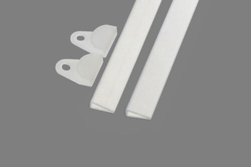 Ezi-On Poster Hangers White Hangs One Poster 138cm wide