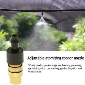 Brass Spray Misting Nozzle Garden Sprinklers Irrigation Fitting Access G5Y1