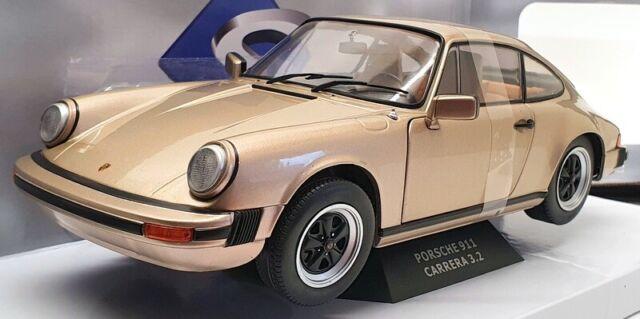 Solido 1/18 Scale Model Car S1802602 - 1977 Porsche 911 3.2 Carrera - Bronze