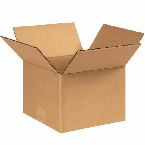 100-8 x 8 x 6 Corrugated Shipping Boxes Storage Cartons Moving Packing Box
