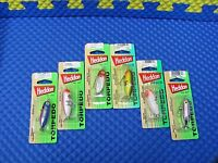 The Heddon Tiny Torpedo Topwater 1-7/8 X0360 Series Choose Your Color