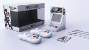 Console-NeoGeo-mini-Samurai-Shodown-Limited-Edition-Haohmaru-blanc