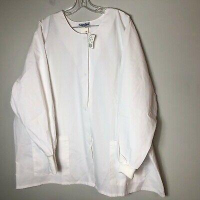 Landau Women's Warm-up Scrub Jacket Snap Front Style 7525 ...