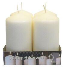 24 x Pillar/Church candle 80mm (H) x 50mm (D). Bulk Pack