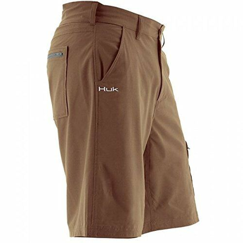 Huk Men's Next Level 10.5  Short, Bark, 3X-Large