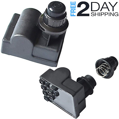 Charbroil Gas Grill Replacement Parts 6 Outlet AA Battery Push Button Ignitor Igniter for Amana Uniflame Surefire Charmglow Centro Brinkmann BBQ Pro Bakers /& Chefs Model Grills
