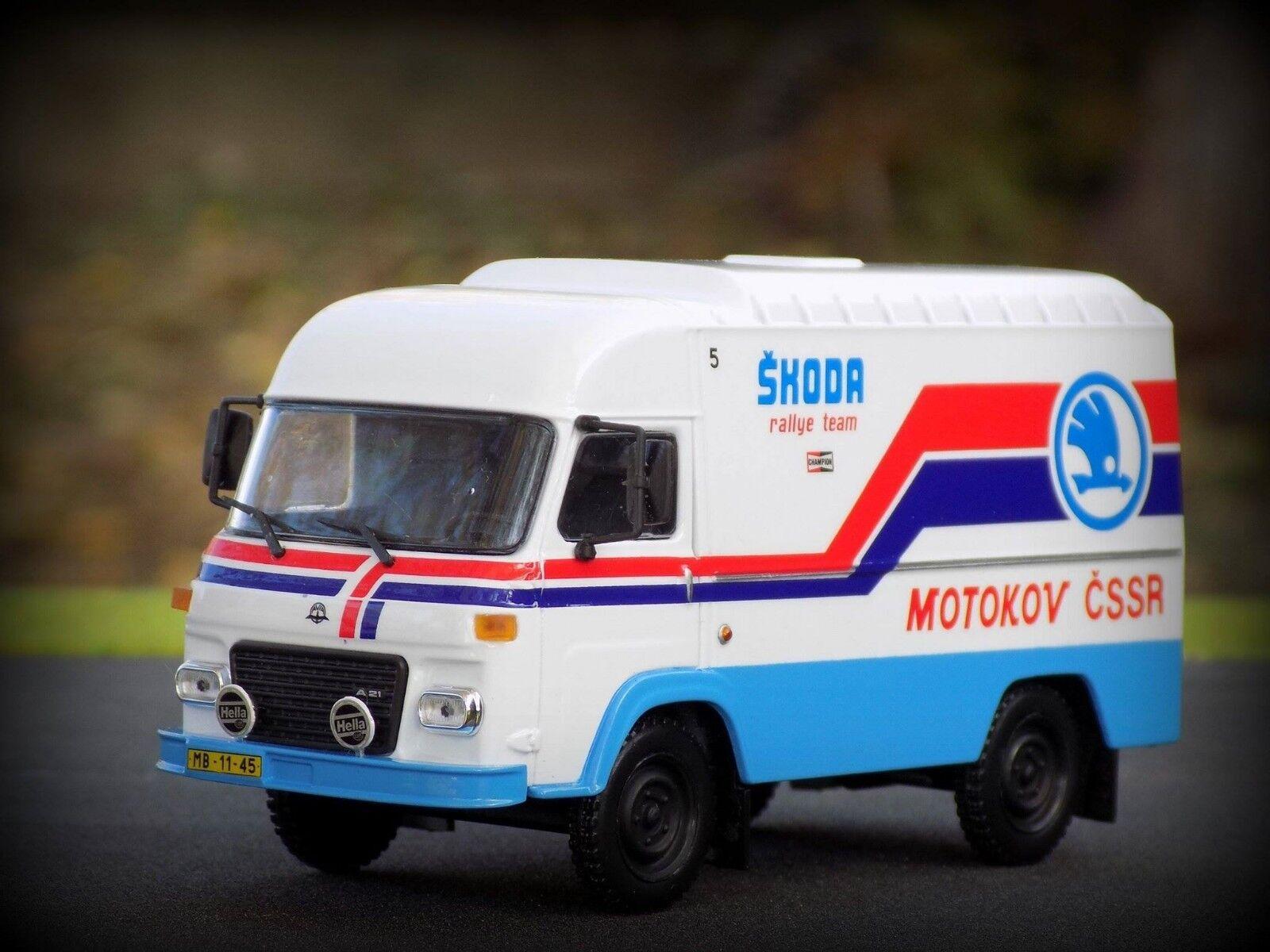 1 43 Avia A21 FURGON, SKODA Rally Team Service Car No 5 Motokov, 1982, Limited
