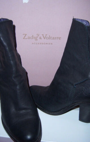 Zadig Cuir Voltaire amp; Boots uk3 36 Bottines Us5 Leather tww17qfr