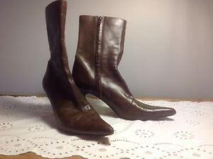 42277d7fae7 Steve Madden Lindzie High Heel Mid Calf Boot Women size 8-1 2 M ...