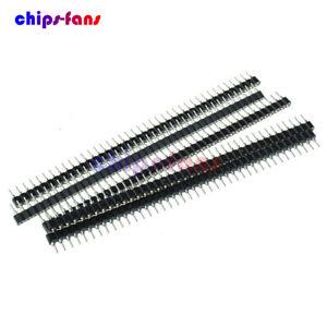 10pcs 40pin Strip Tin PCB Female IC Breakable Single Row Round Header Socket  /_