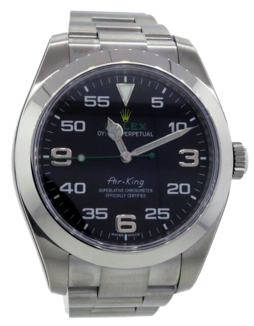 finest selection 3a685 76a5b Rolex Air-king 116900 Stainless Steel Automatic Men's Watch