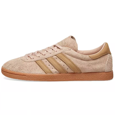 ADIDAS TOBACCO SUEDE TRAINERS - BROWN