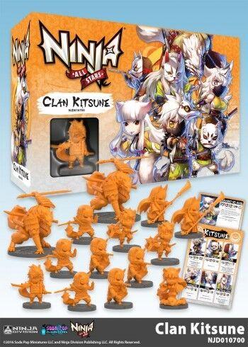Clan Kitsune Soda Pop Miniatures