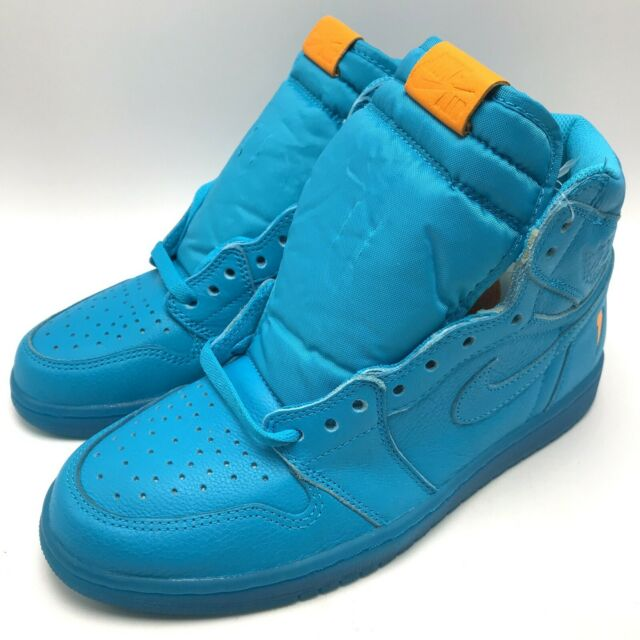 buy online 33576 9b823 Nike Air Jordan 1 Retro HI OG G8RD Men's Shoes Blue Lagoon AJ5997-455