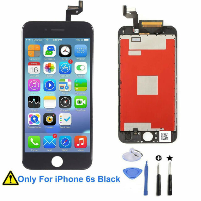NEW Per IPhone 6S LCD Touch Screen 3D Schermo Display Digitizer Frame Black Nero