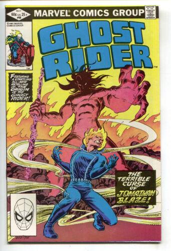 Ghost Rider 68 Marvel 1982 VF Mephisto Bob Budiansky