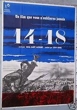 AFFICHE ANCIENNE FILM 14-18  WWI CECIL St LAURENT JEAN AUREL 1963