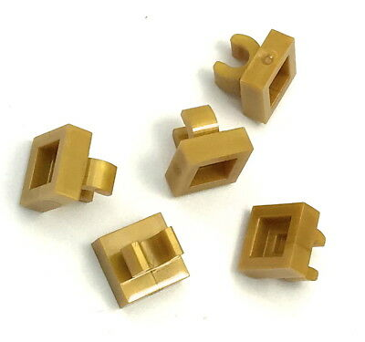 Lego 3 New Black Tiles Modified 1 x 1 with Clip Rounded Edges Pieces