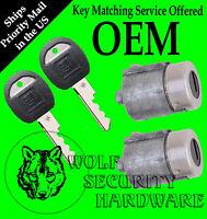 Chevy Gmc C K Series Pickup 88-94 Door Lock Key Cylinder Pair With 2 Keys