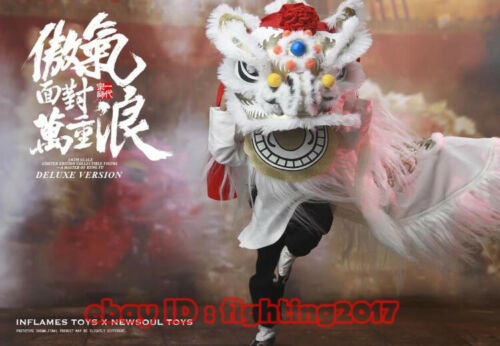 Inflames Toys  024 Master Of Kung Fu  Wong FeiHung Deluxe Version 1//6 Figure Toy